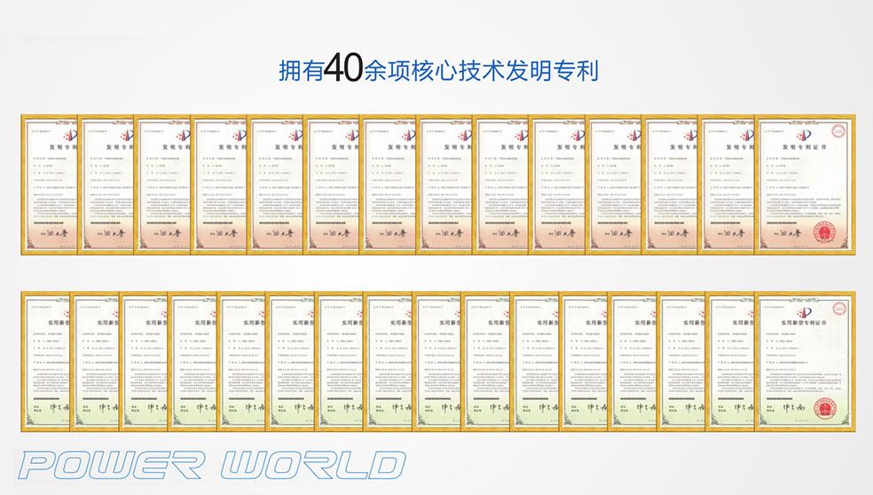2005-2006年至今已获40多项专利