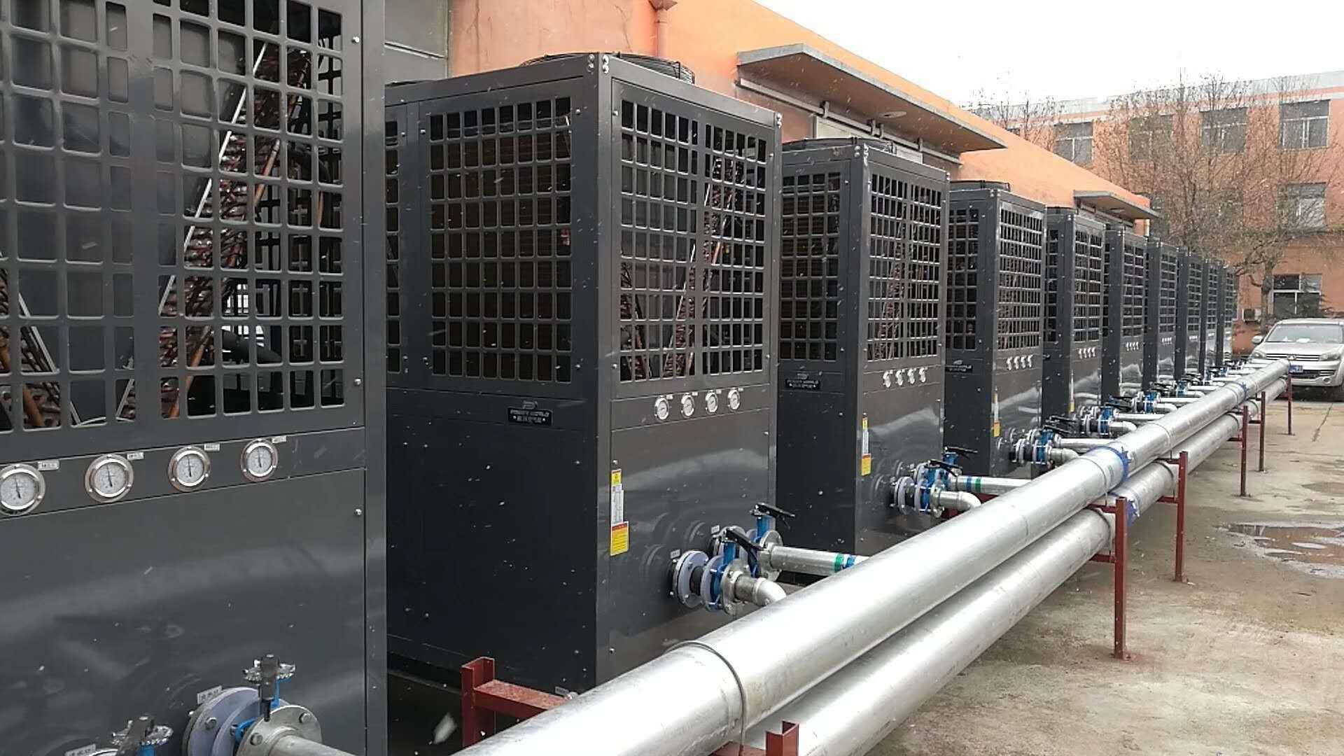 空气源热泵加热系统及其控制方法和过程